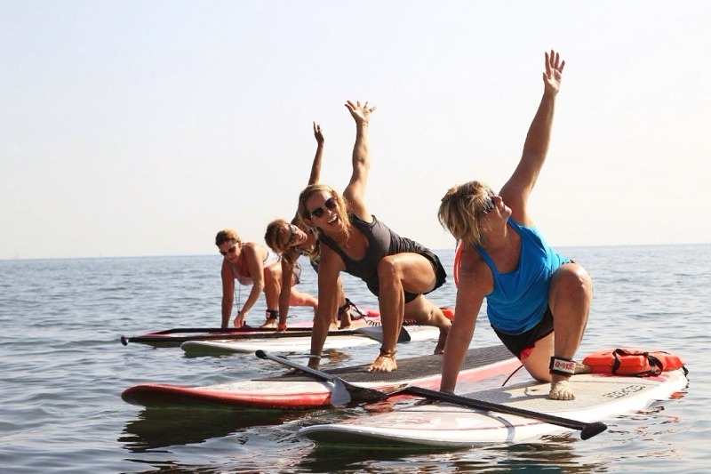 Wild Spirit Stand Up Paddleboard Yoga